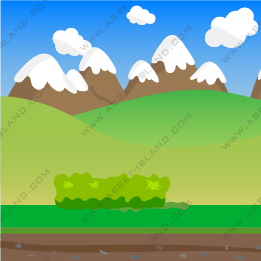 Hills and Mountain Background