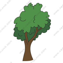 Cartoon Style Tree
