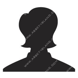 Female Silhouette Head