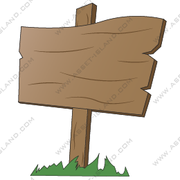 Wooden Sign